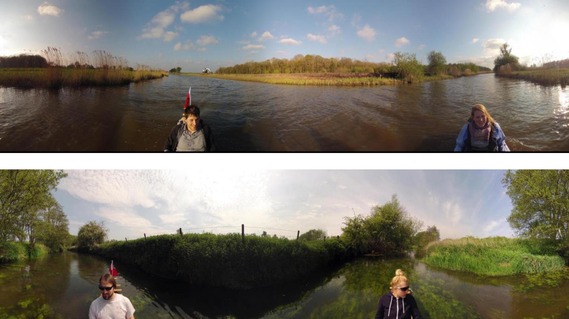 Broadsview - two panoramas