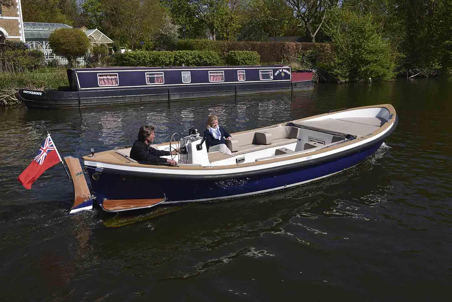 Cooper boat test Thames