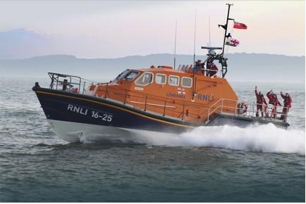 RNLI Tamar class lifeboat