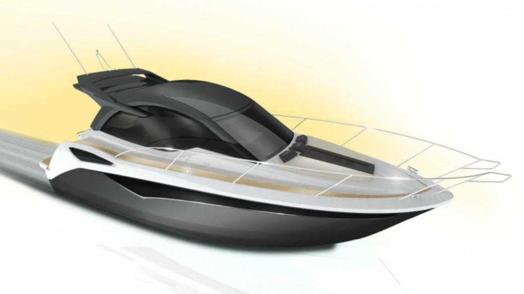 Galeon 305 HTS design