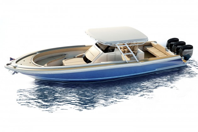 Chris Craft Catalina 34 design revealed before Fort