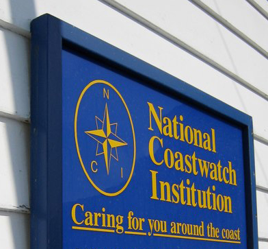 National Coastwatch sign