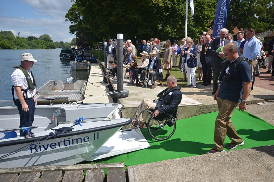 Wheelyboat Trust - Coulam V20 launch