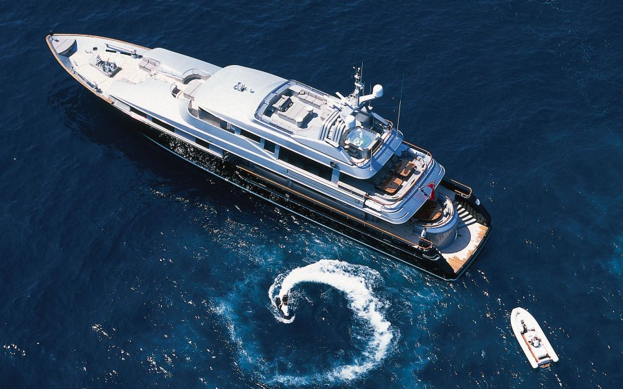 cecil wright silver dream superyacht
