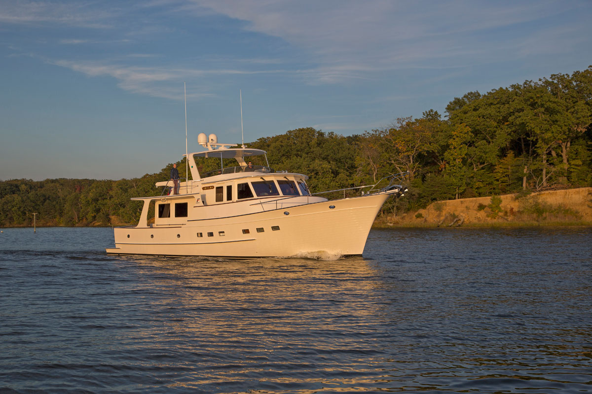 Best of both worlds? Semi-displacement cruising explained
