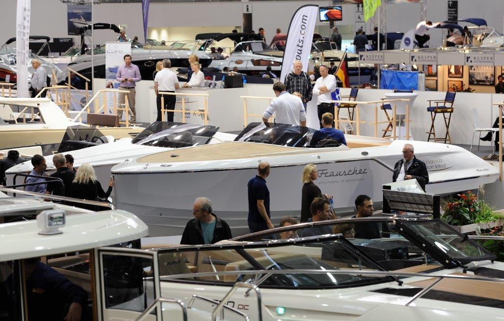 Hanseboot Hamburg boat show 2014