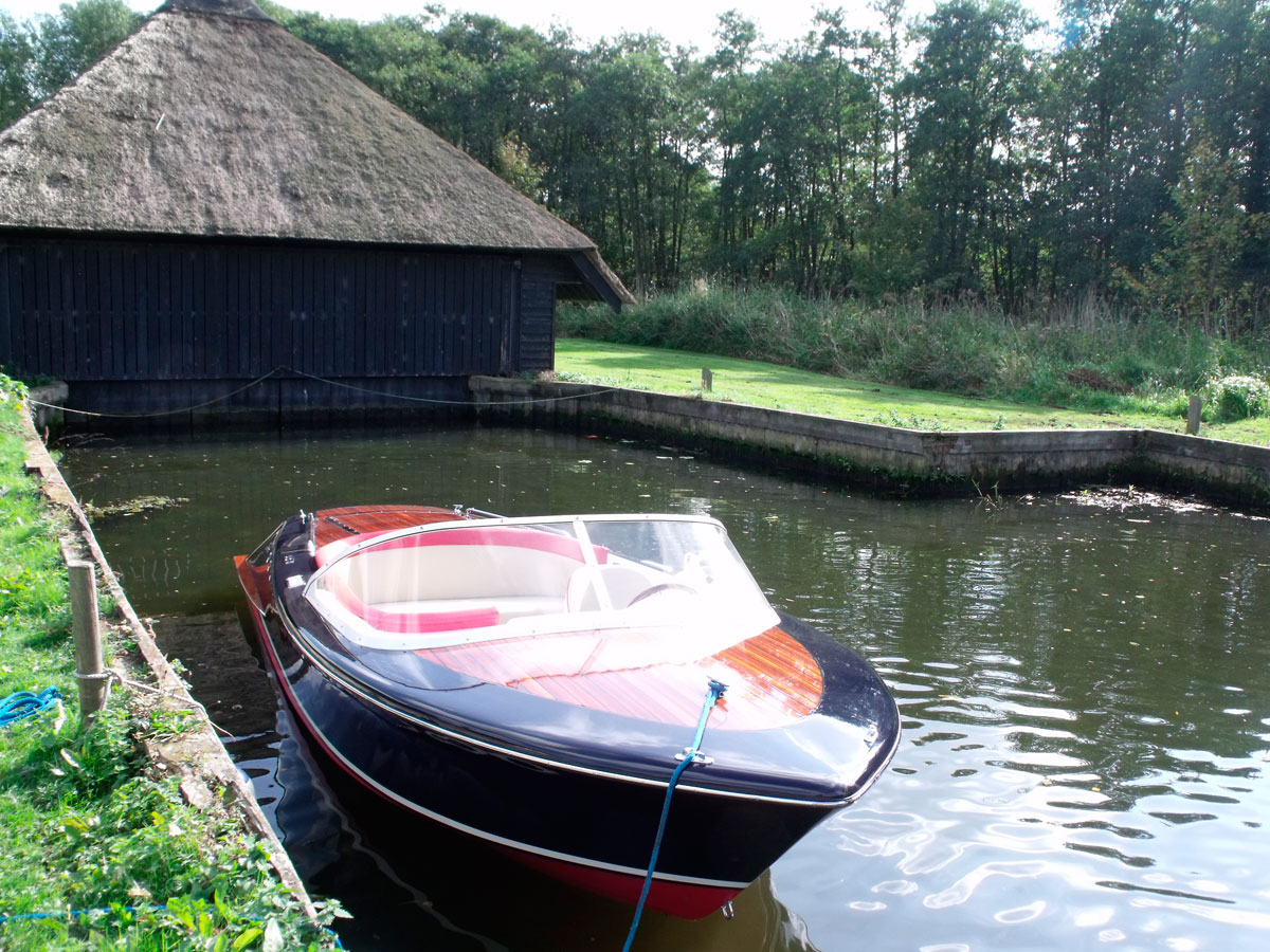 Webb Boats Caprice launch