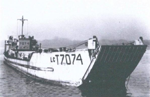 Landfall D-Day landing craft