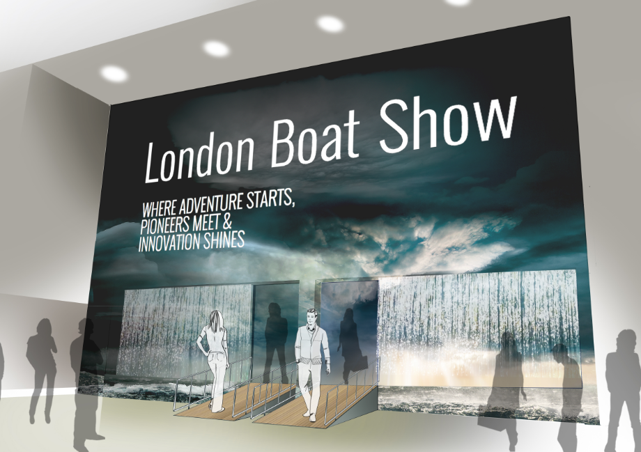 CWM FX London Boat Show entrance