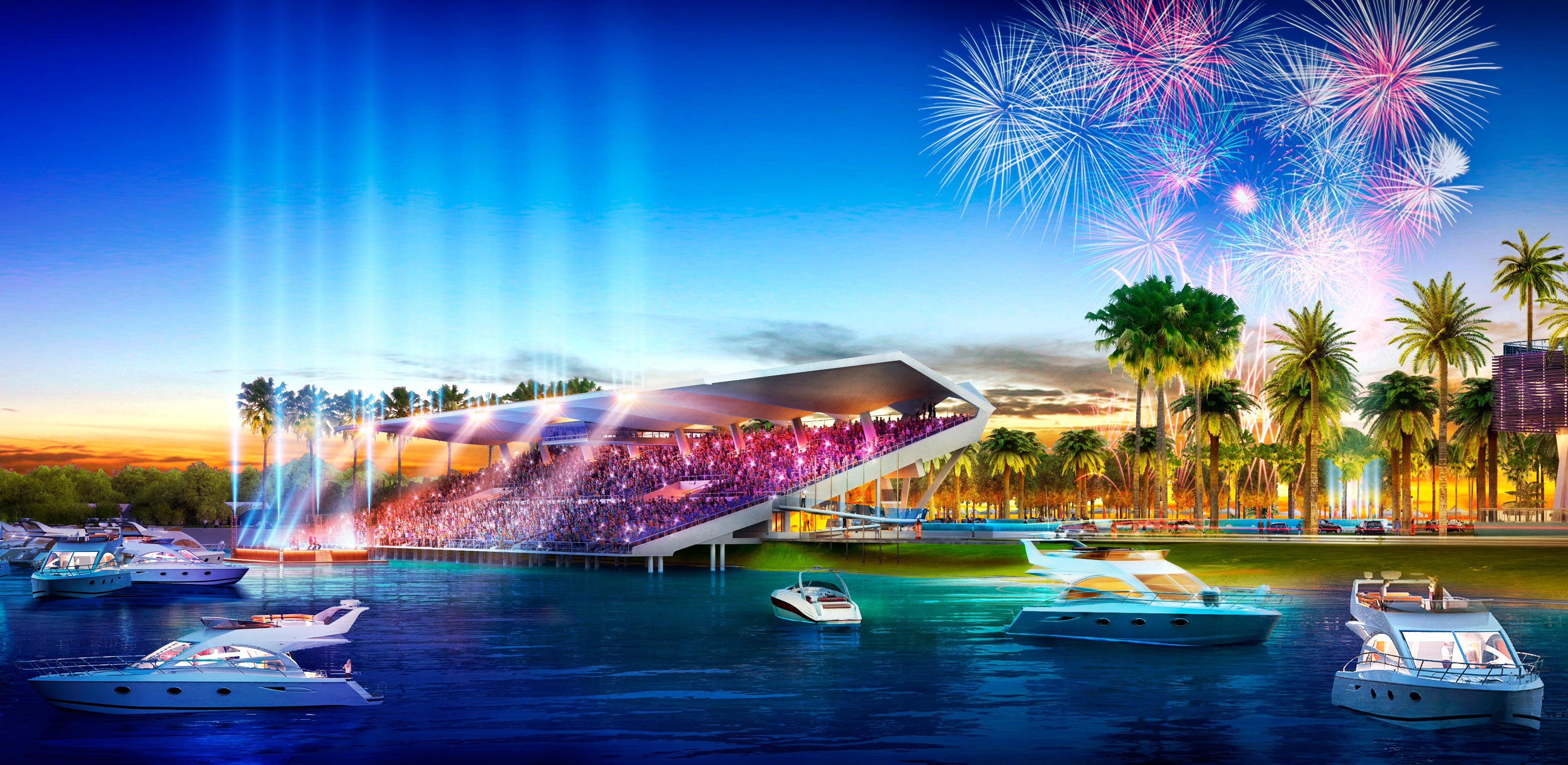 Miami-stadium-Miami boat show