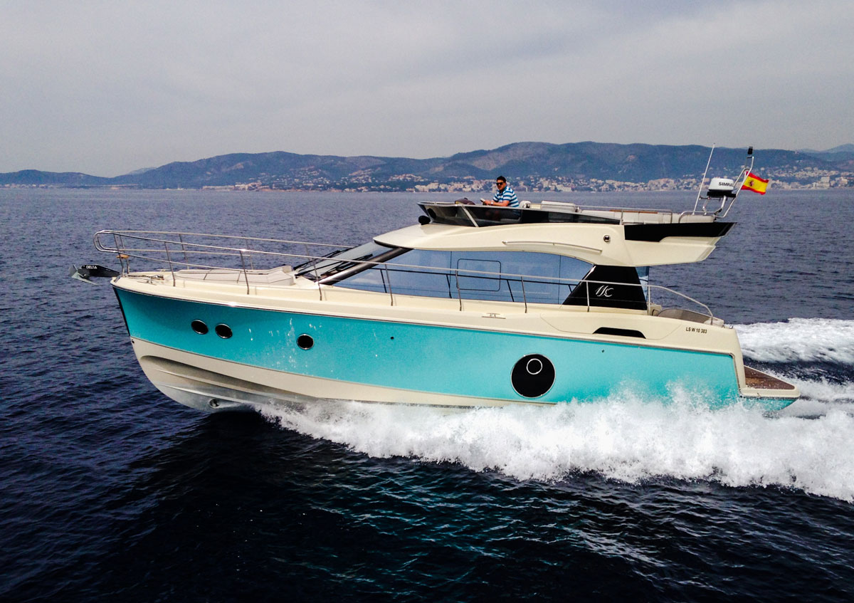 Monte Carlo 4 - available through Denison Yacht Sales