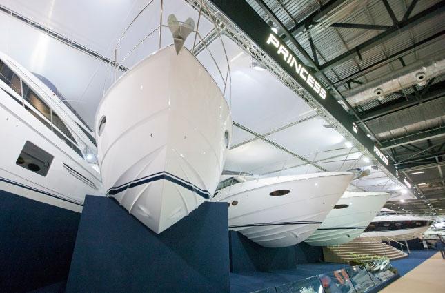 Princess-Yachts-London-Boat-Show