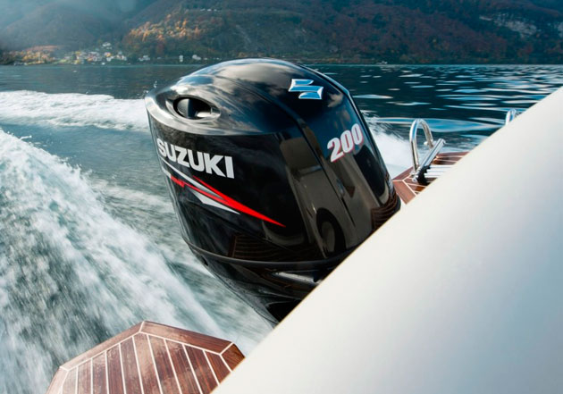 Suzuki-DF200AP outboard engine with keyless start