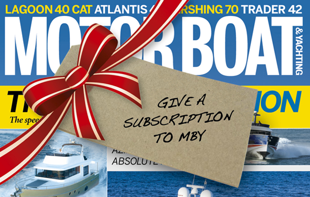 MBY Christmas subscriptions sale ad