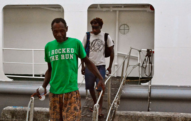 PNG-drifters survive five months at sea