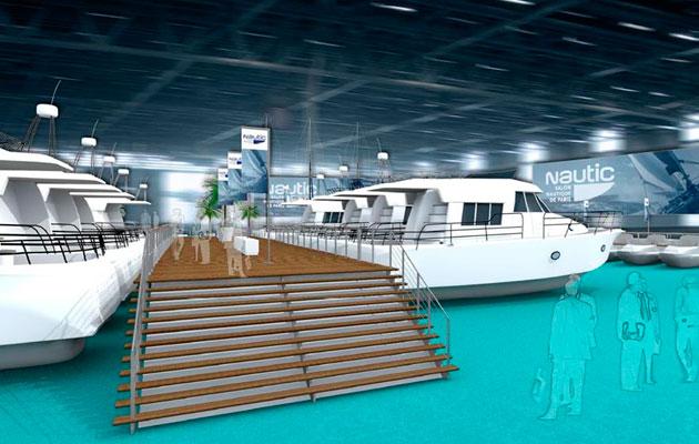 Paris-Boat-Show-2014-indoor-marina