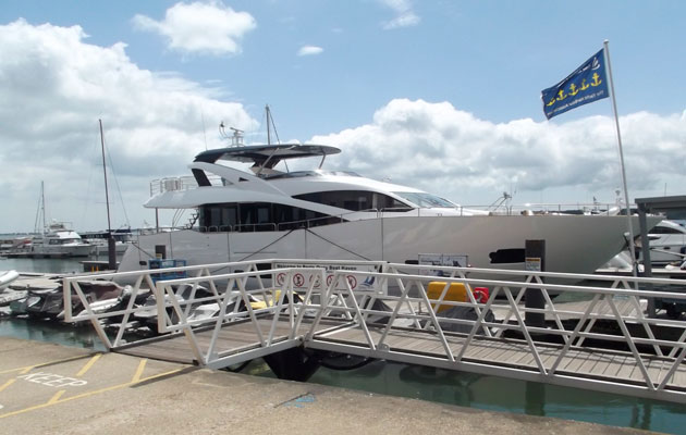 Poole Quay Boat Haven will host the Poole Harbour Boat Show