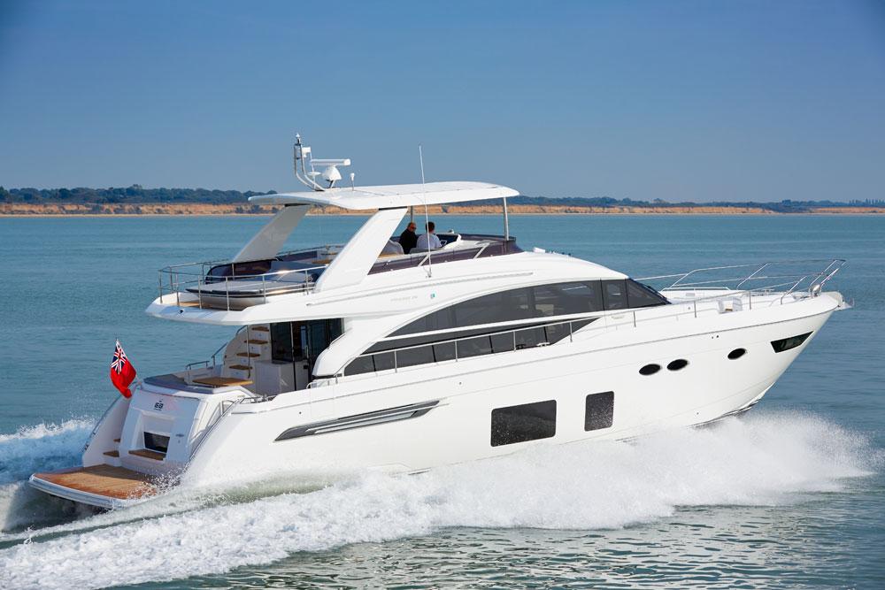 Princess 68 Review Motor Boat Yachting