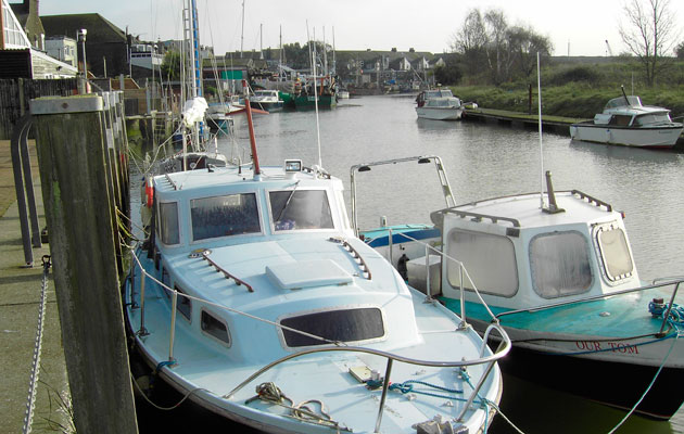 Queenborough, Kent harbour