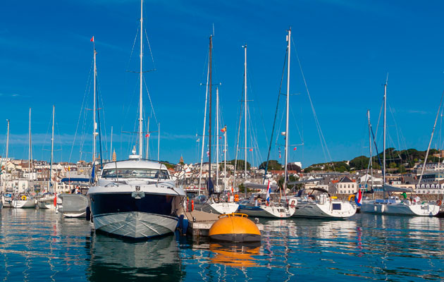 St-Peter-Port-Guernsey harbour