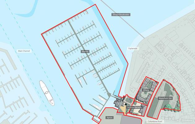 New East Cowes marina - Victoria Marina