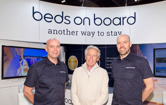 Beds On Board founders Sir Peter Ogden and brothers Jason and Tim Ludlow