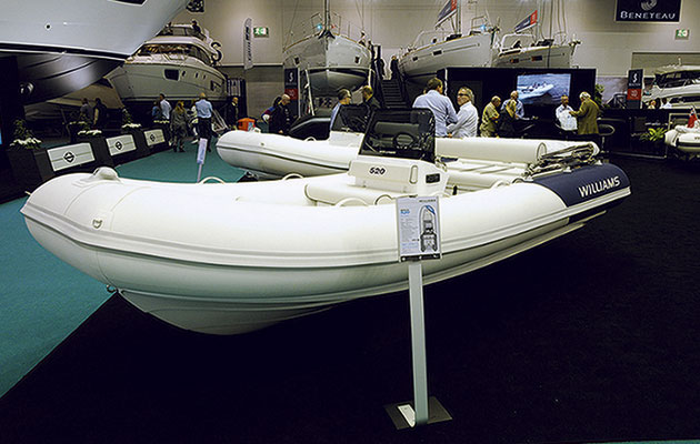 Williams Sportjet 460 at London Boat Show