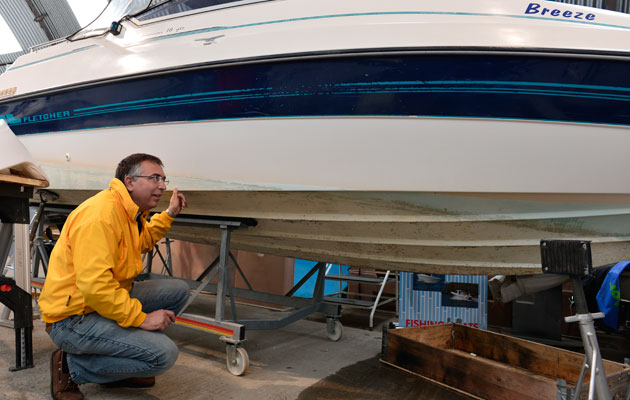 Born Again Boater: Nick inspects a Fletcher