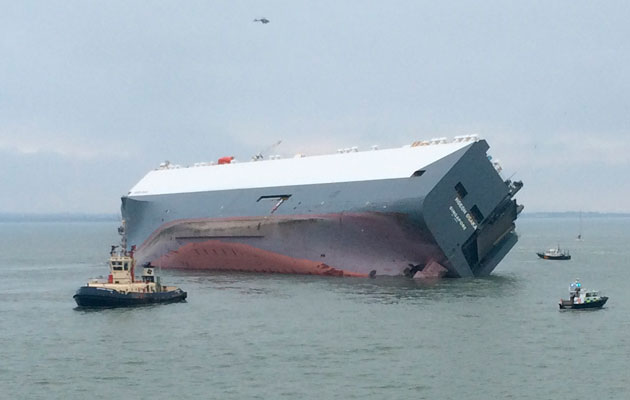 Car Carrier For Sale >> Coastguard sets up 200m exclusion zone around Höegh Osaka - Motor Boat & Yachting