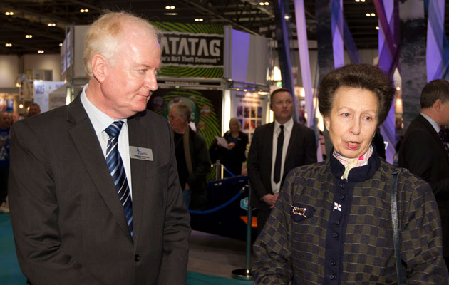 Howard-Pridding-and-Princess-Anne-at-2015-London-Boat-Show