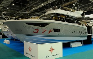 Jeanneau Velasco 37F at London Boat Show