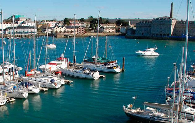 Mayflower Marina in Plymouth
