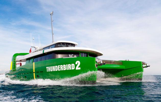 Thunderbird 2 motorcat