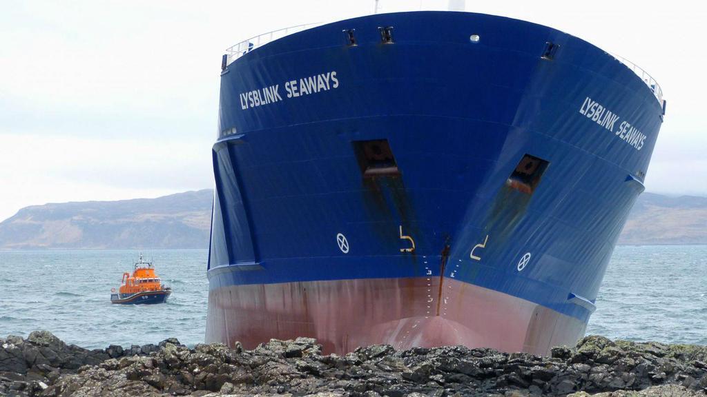 Lysblink Seaways refloated