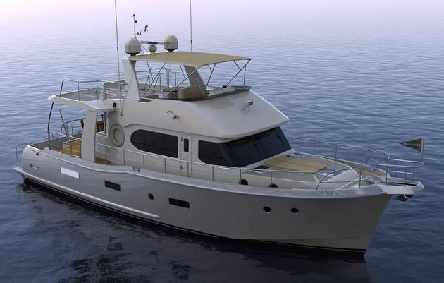 Nordhavn N59 Coastal Pilot Details Revealed Motor Boat