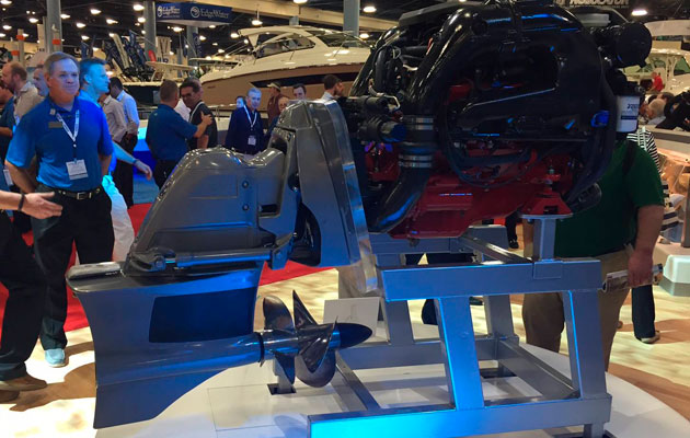 Volvo Penta Forward Drive unveiled at Miami Boat Show 2015