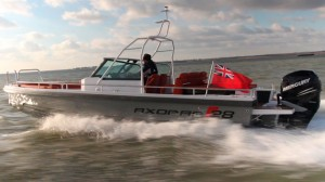Axopar 28 sea trial video