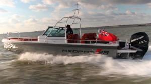 Axopar 28 sea trial video