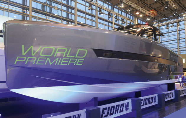 Fjord 48 Open at 2015 Dusseldorf Boat Show