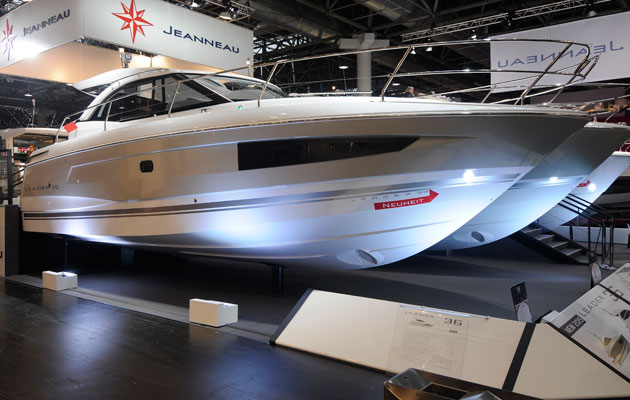 Jeanneau Leader 36 at 2015 Dusseldorf Boat Show