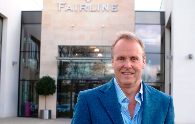 Karl Gilding - Fairline head of yacht sales