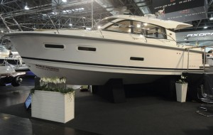 Nimbus 305 Coupe at Dusseldorf Boat Show