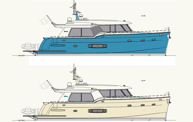 Outer Reef Yachts T550 Solara design