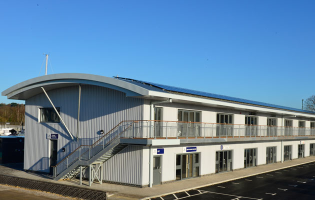 Swanwick Marina new office block