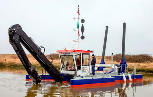 brighton marina new dredger