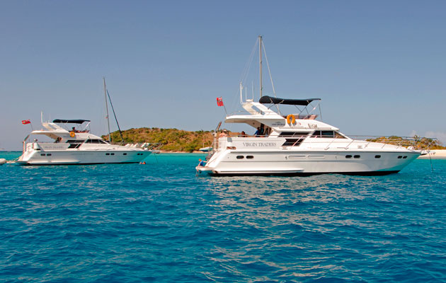 BVIs chartering favourite