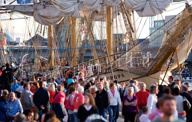 Belfast Tall Ships festival