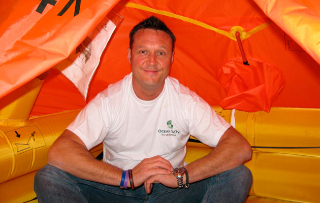 Wayne Ingram liferaft survival challenge