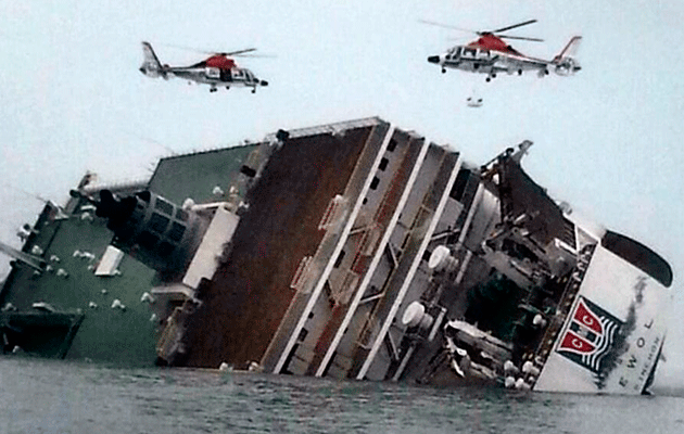 MV Sewol sinking