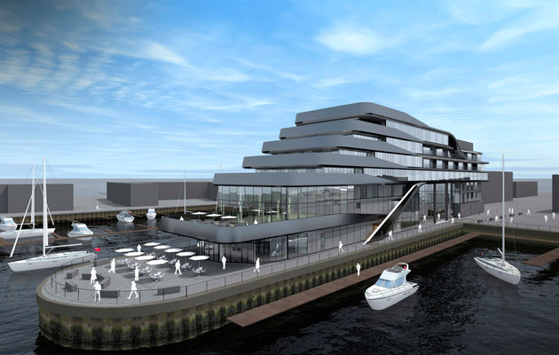 Ocean village marina to get southampton s only 5 star for Nearest 5 star hotel